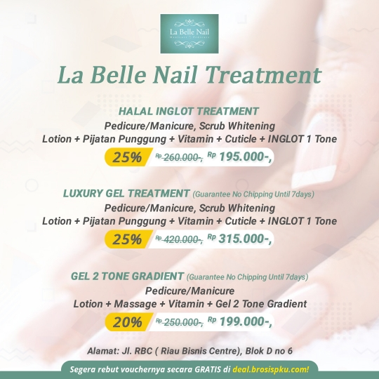 Labelle Nail Treatment Deal