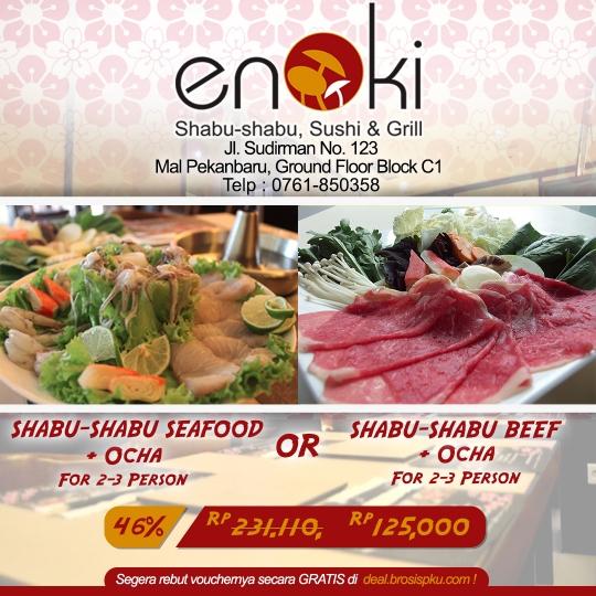 Enoki Shabu-shabu Deal