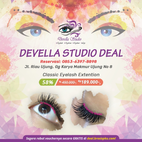 Devella Studio Classic Eyelash Deal