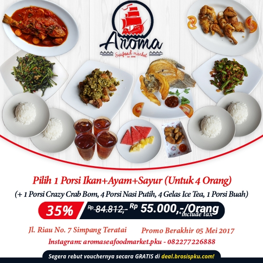 Aroma Seafood Market Deal