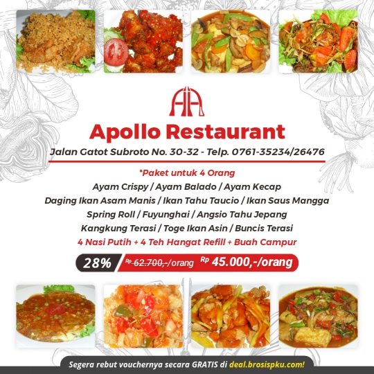 Apollo Restaurant Berempat Deal