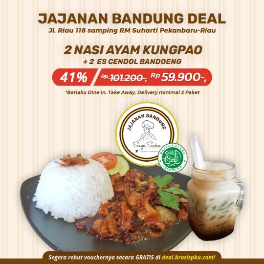 Jajanan Bandung Ayam Kungpao Deal