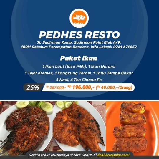Pedhes Resto Paket Ikan Deal