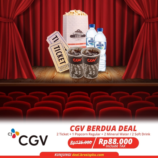 Cgv Cinemas Transmart Berdua Deal (monday-thursday)