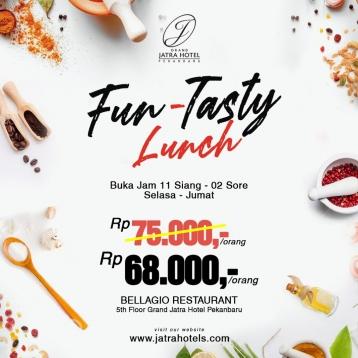 Grand Jatra Fun-tasty Lunch Deal (tuesday-friday)