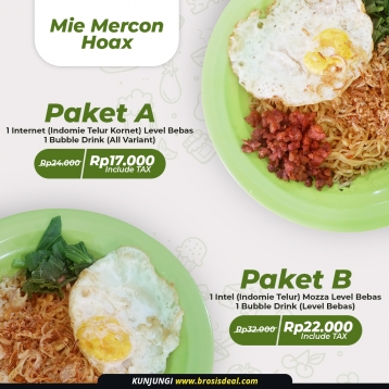 Mie Mercon Hoax Deal