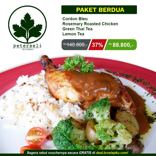 Peterseli Kitchen Berdua Deal
