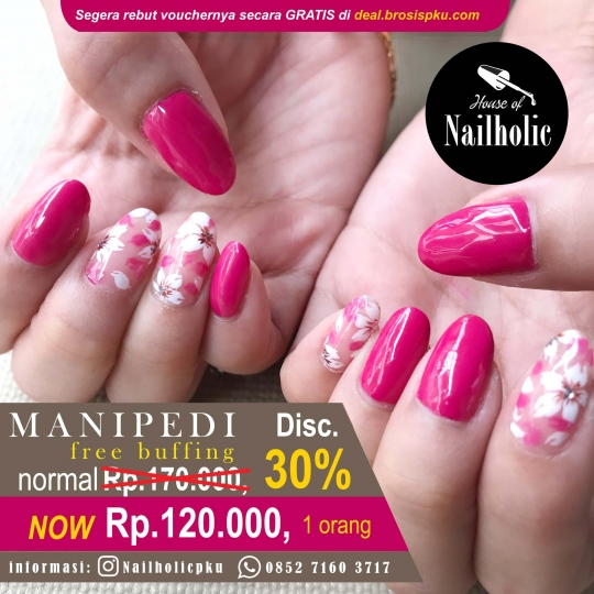 House Of Nailholic Manipedi Deal