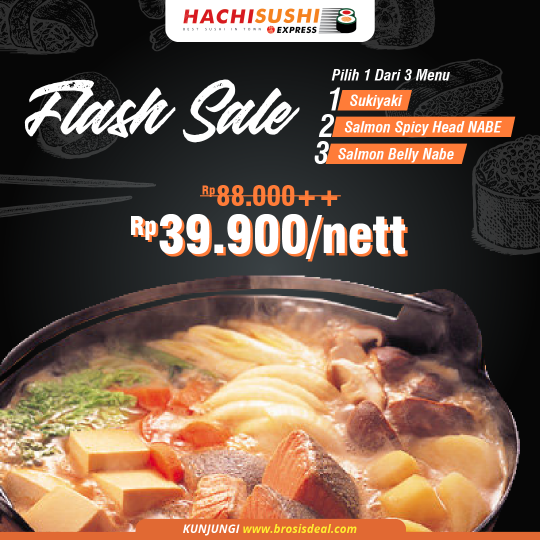 Hachi Sushi Express Flash Sale Deal