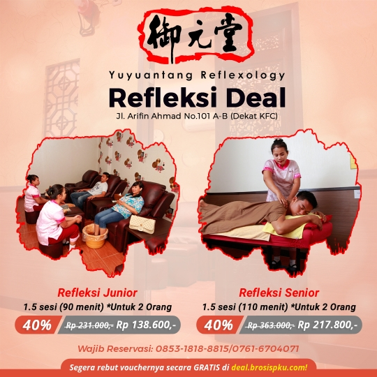 Yu Yuan Tang Reflexology Deal (monday-friday)
