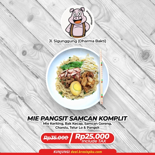 Lapo Mangan & Butongs Mie Pangsit Deal