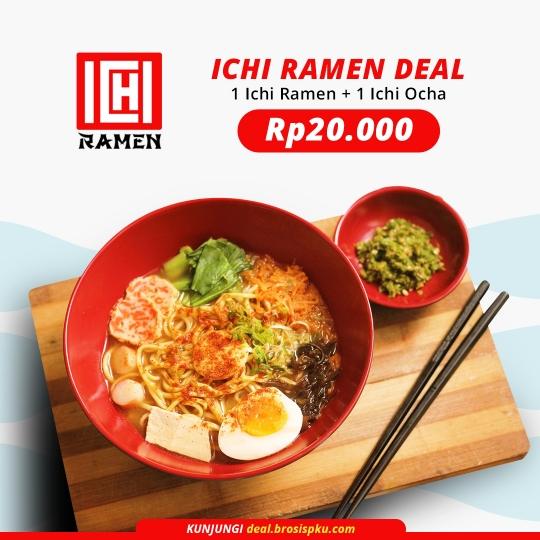 Ichi Ramen Deal
