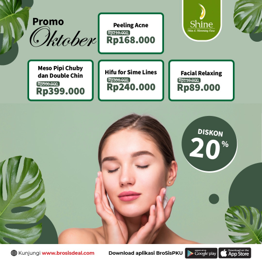 Shine Clinic Facial Oktober Deal