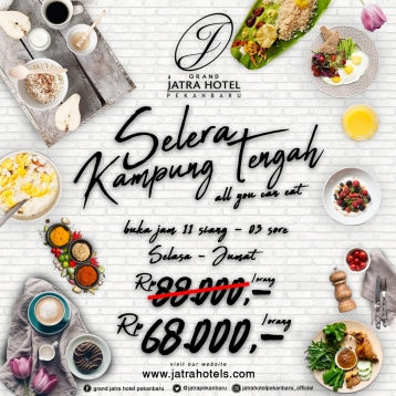 Jatra Selera Kampung Tengah Deal (tuesday-friday)