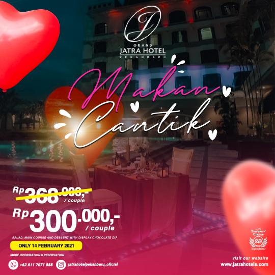Jatra Makan Cantik Valentine Deal