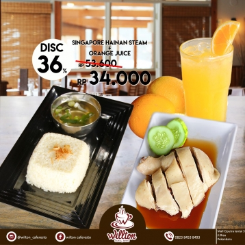 Willton Cafe N Resto Hot Deal
