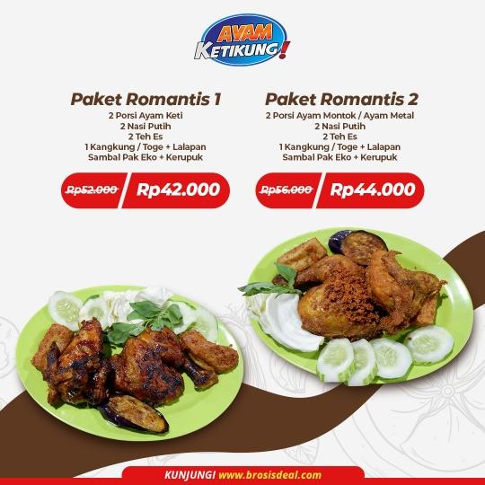Ayam Ketikung Romantis Deal