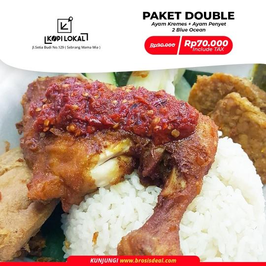 Kopi Lokal Paket Double Deal