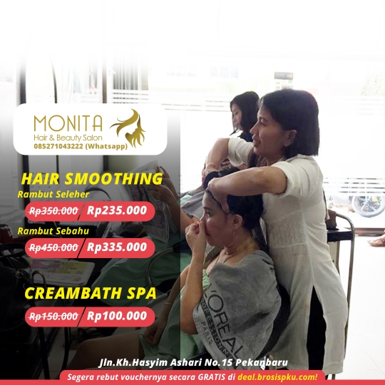 Monita Salon Hair Treatment Deal