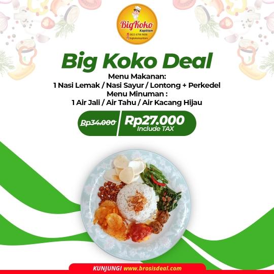 Bigkoko Kopitiam Deal