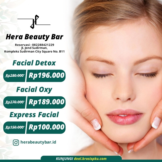 Hera Beauty Bar Facial Deal
