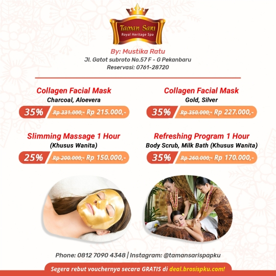 Taman Sari Royal Heritage Spa Deal