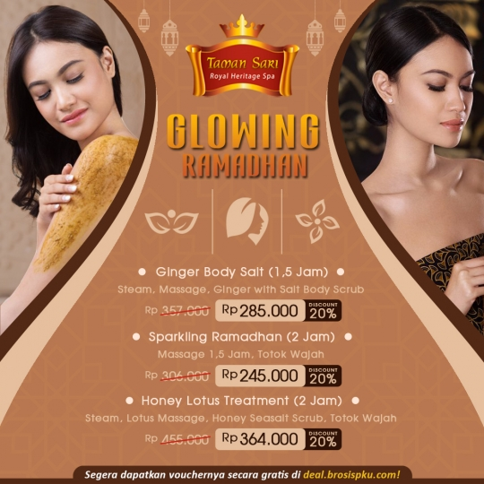 Taman Sari Royal Heristage Spa Glowing Ramadhan Deal