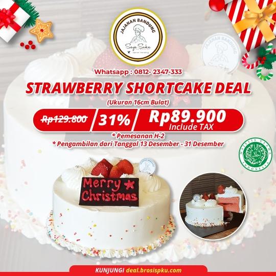 Jajanan Bandung Special Christmas Cake Deal