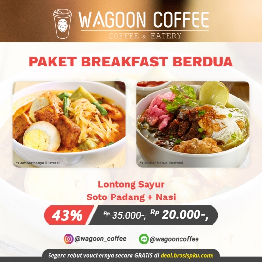 Wagoon Coffee Breakfast Deal