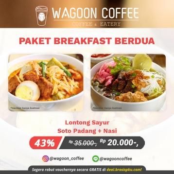 Wagoon Coffee Breakfast Deal