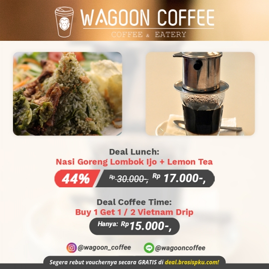 Wagoon Coffee Lunch Deal