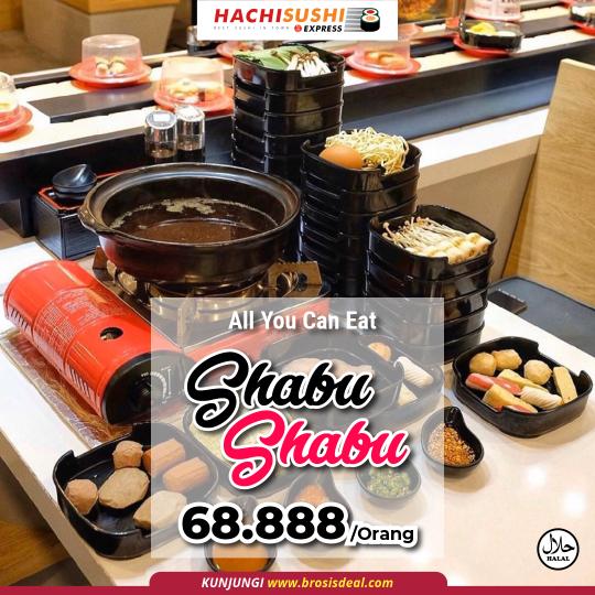 Hachi Sushi Express Shabu Ayce Deal