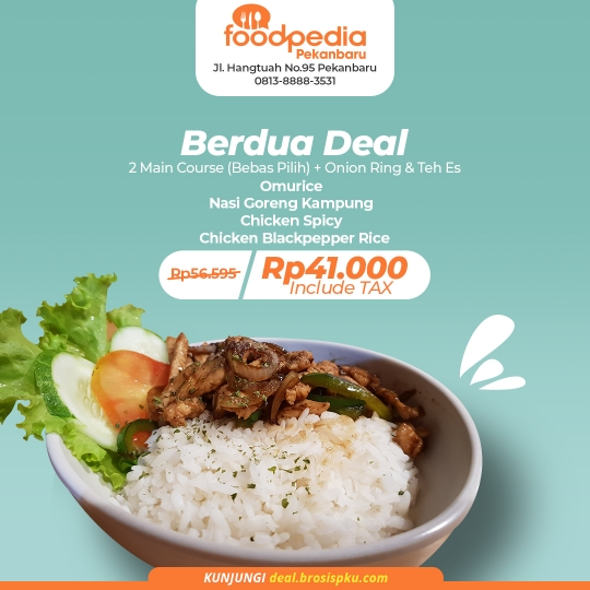 Foodpedia Berdua Deal