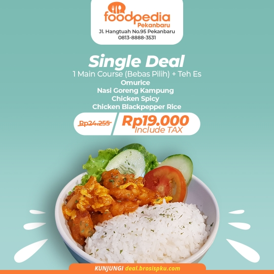 Foodpedia Single Deal
