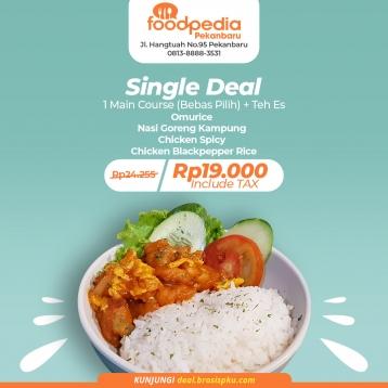 Foodpedia Single Deal