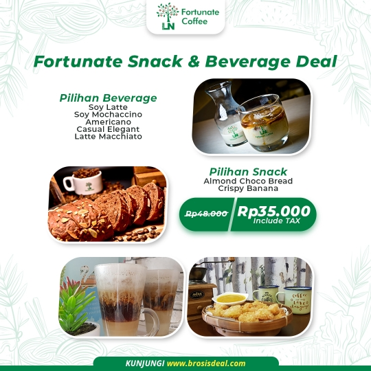 Fortunate Coffee Snack & Beverage Deal
