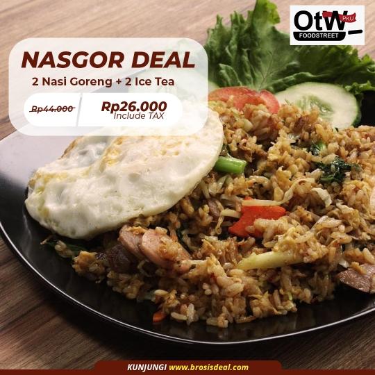 Otw Foodstreet Nasgor Deal