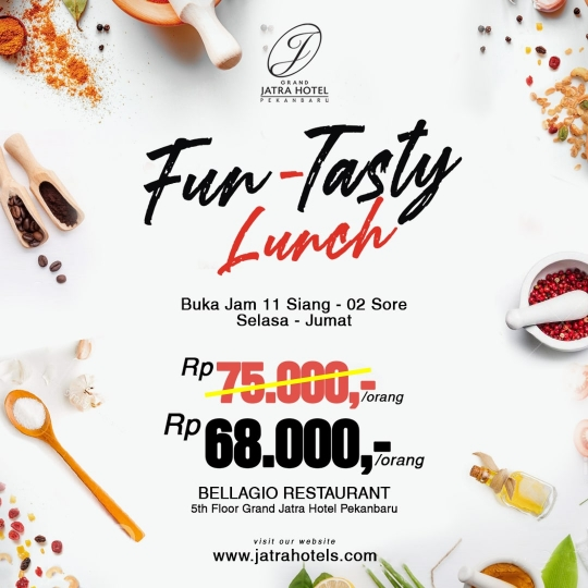 Grand Jatra Fun-tasty Lunch Deal (tuesday-friday)