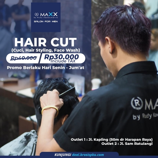 Maxx Hair Cut Deal (monday-friday)