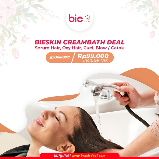 Bieskin Care Creambath Deal