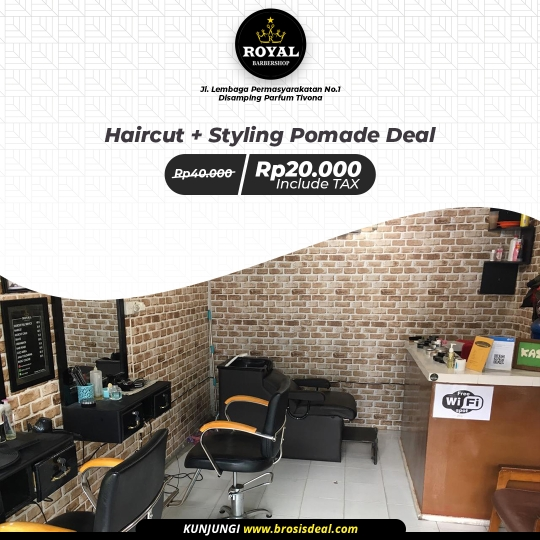 Royal Barbershop Deal