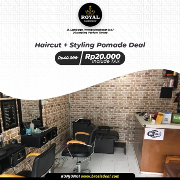 Royal Barbershop Deal