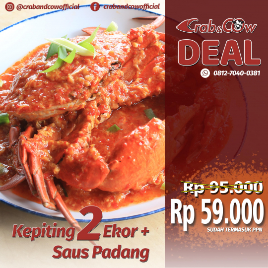 Crab & Cow Kepiting Deal