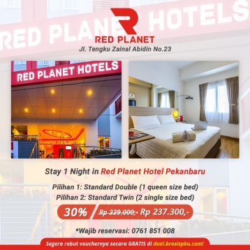 Red Planet Hotel Deal