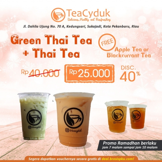 Teacyduk Buy 2 Get 1 Free Deal
