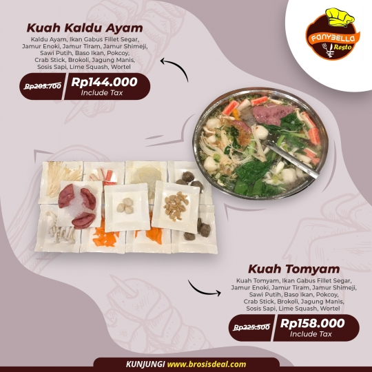 Fanybella Resto Steamboat Suki Deal