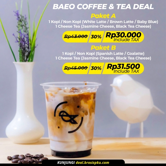 Baeo Coffee And Tea Deal