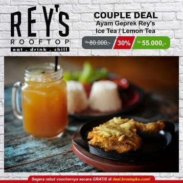 Reys Roof Top Cafe Geprek Deal
