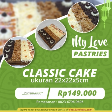 My Love Pastries Classic Cake Deal