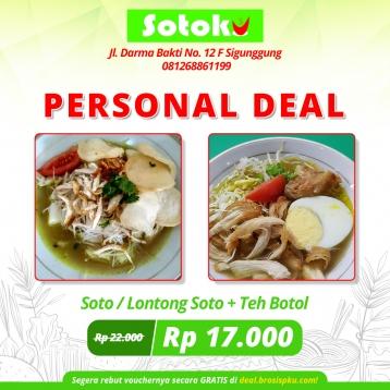 Sotoku Personal Deal